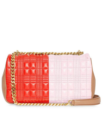 Small Quilted Tri-tone Lola Bag