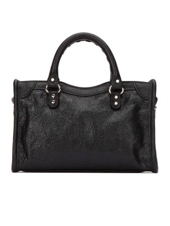 Classic City Nano Shoulder Bag in Black