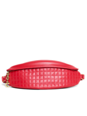 Fanny Pack in Red Quilted Calfskin