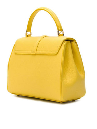 Small 16 Bag in Citron Grained Calfskin