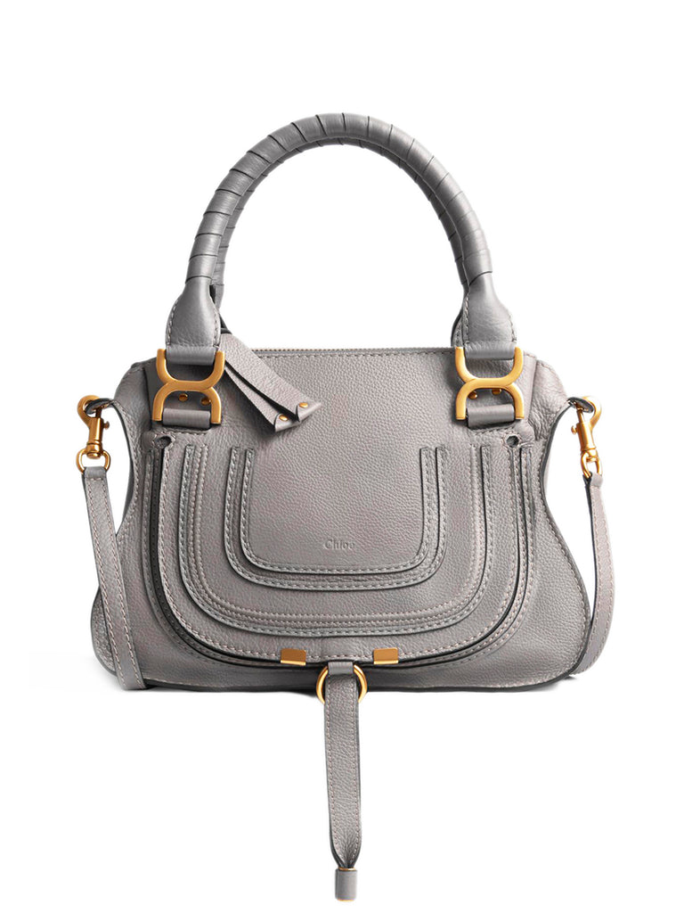 Small Marcie Bag in Cashmere Grey