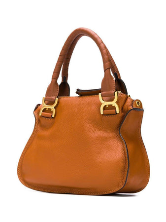 Small Marcie Bag in Tan