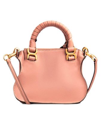 Mini Marcie Handbag in Peach Bloom