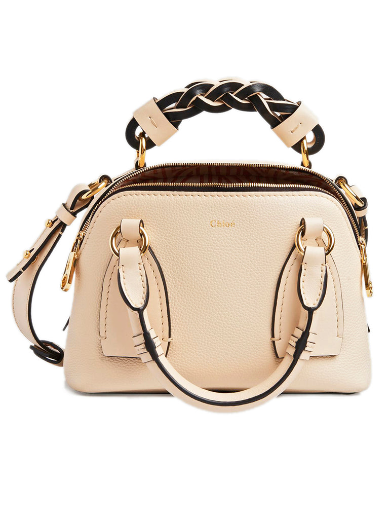 Small Daria Bag in Sweet Beige