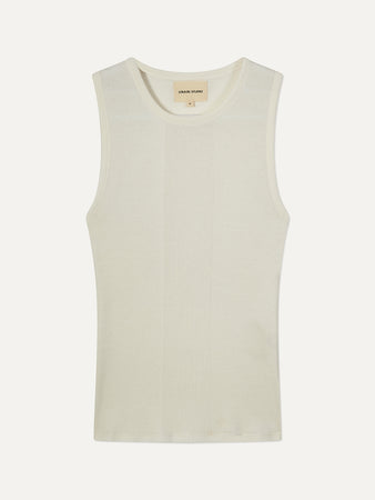 Fatu Ribbed Cotton Tank