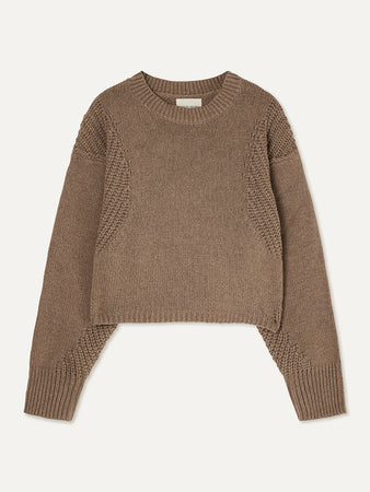 Huahine Cotton and Cashmere-blend Sweater