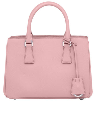 Saffiano Leather Handbag in Petal Pink