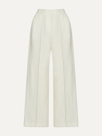 Reao Pleated Linen Pants