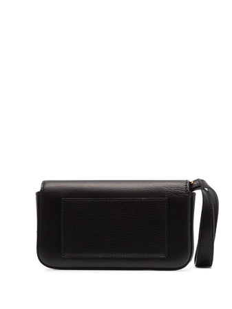 T Clasp Mini Leather Bag