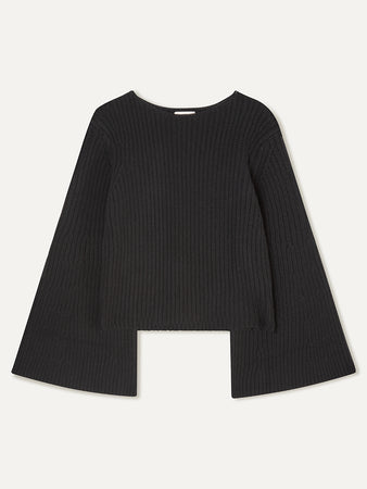 Tumaraa Ribbed Cotton and Cashmere-blend Sweater