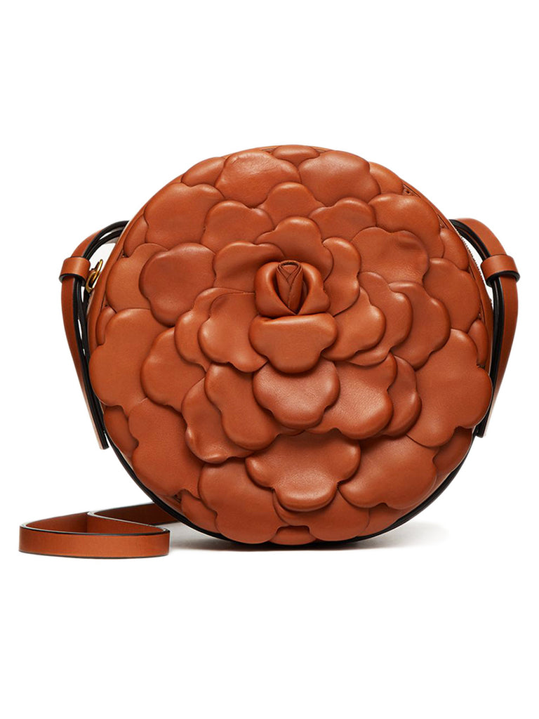 03 Rose Edition Atelier Round Calfskin Crossbody Bag