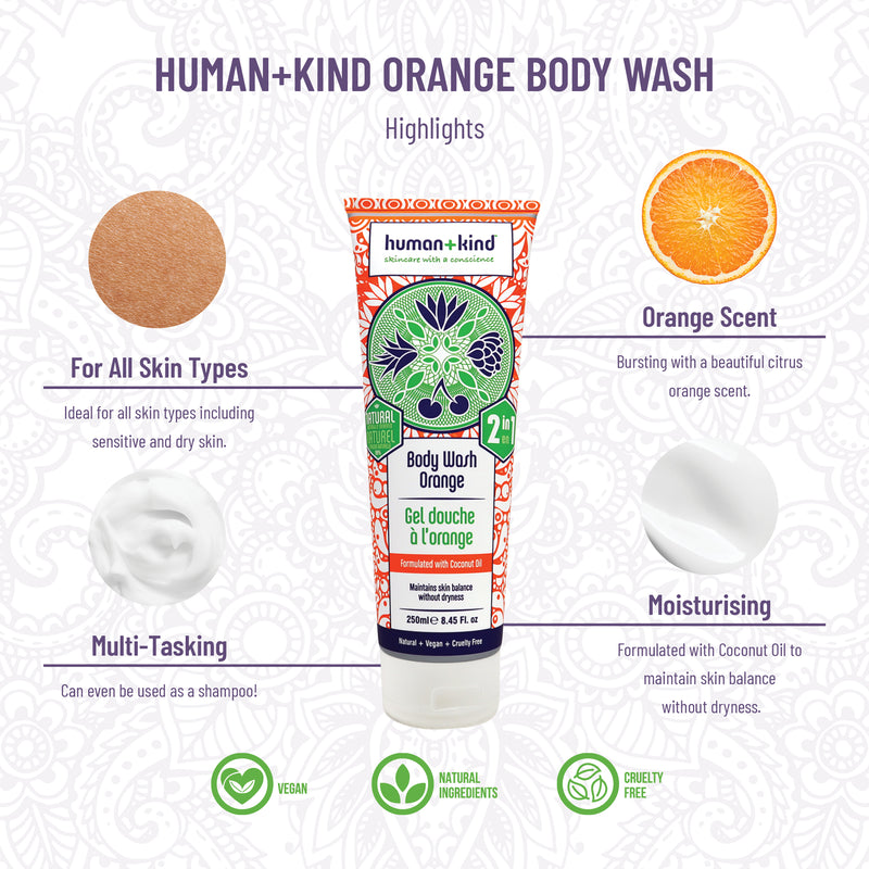 Body Wash Orange