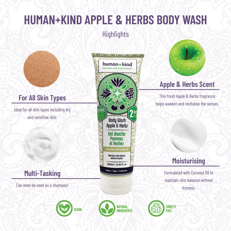 Body Wash Apple+Herbs