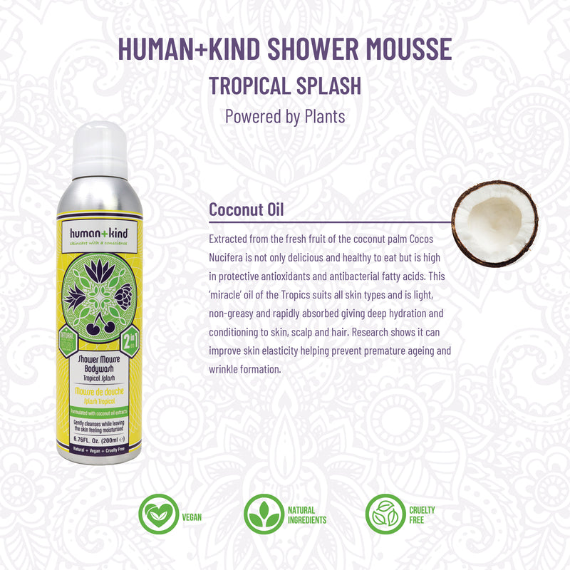 Shower Mousse Tropical Splash