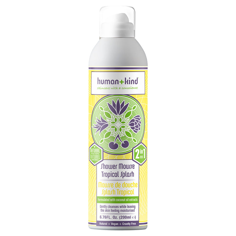 Human+Kind shower mousse tropical