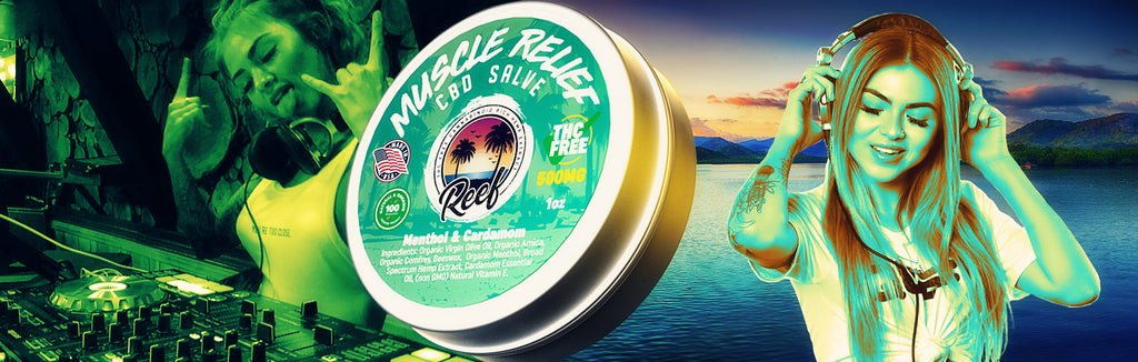 Ajna Massari Balances Life With Reef Relief- CBD Muscle Salve