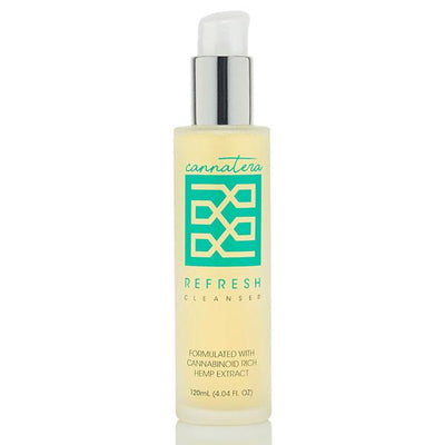 Cannatera REFRESH Anti-Aging Facial Cleanser - Reef CBD