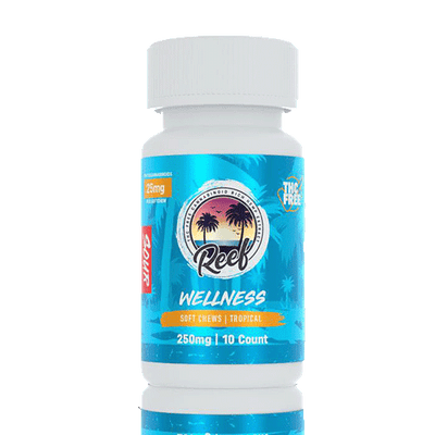 Reef Wellness Sour Tropical CBD Gummies - Reef CBD