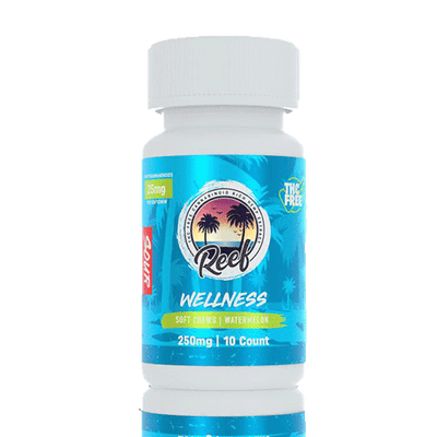 Reef Wellness Sour Watermelon CBD Gummies - Reef CBD