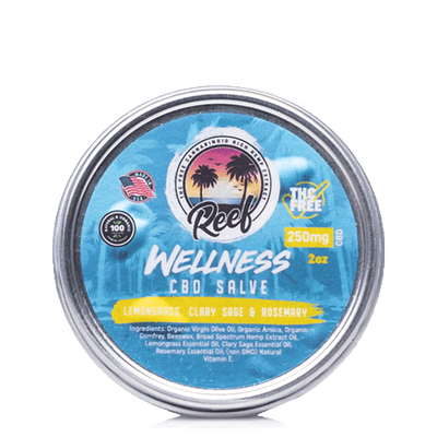 Reef Wellness CBD Lemongrass Salve - Reef CBD