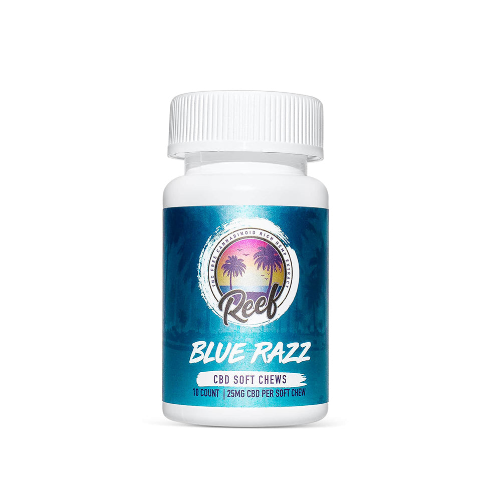 Reef Wellness Blue Razz CBD Gummies - Reef CBD