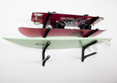Wall Storage Racks - Surfboard, SUP & Skateboard