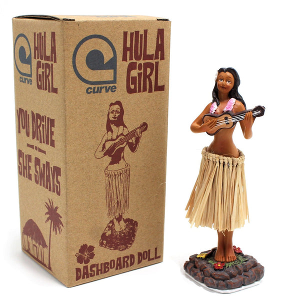 Hula Girl Dashboard Doll - Hawaii Dancing Girl