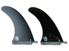 Fins CLASSIC Longboard Single Fibreglass - Black