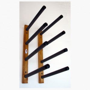 Surfboard Wall Rack   Quad Wooden Deluxe ...