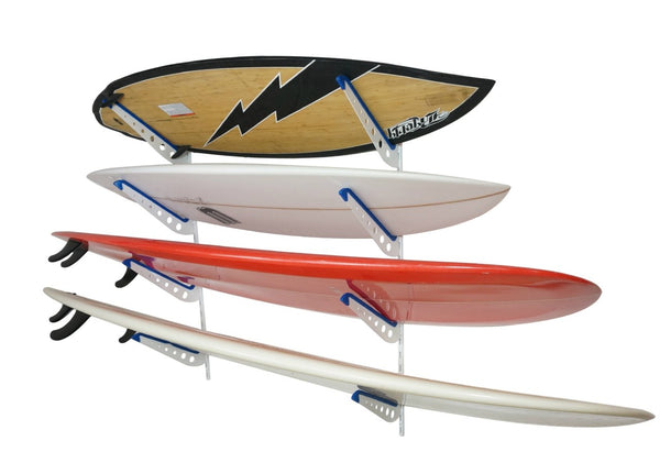 Surfboard Wall Rack - Quad Adjustable
