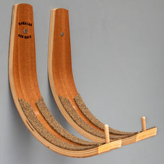 Longboard Wall Rack 50lb Hawaiian Surfboard Rack  [choose colour]