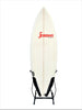 Surfboard Freestanding Rack - Vertical Steel - Center Fin