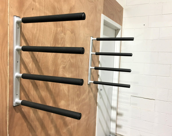 Surfboard Wall Rack - Quad Aluminium by Curve