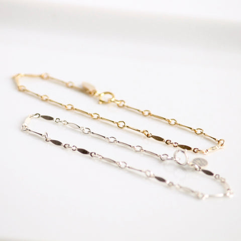 Gold Filled and Sterling Silver Bracelets | Little Hawk Jewelry