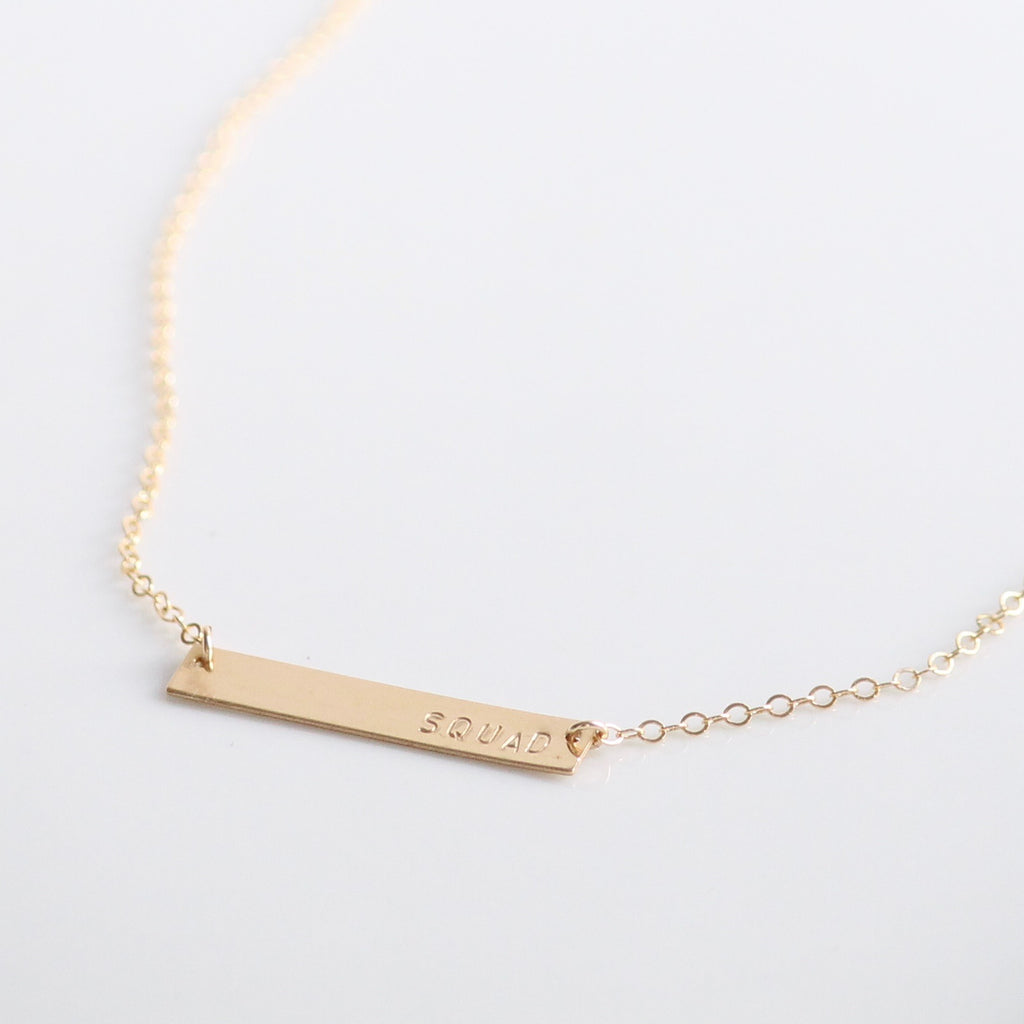 SQUAD Necklace | Little Hawk Jewelry