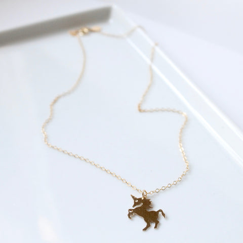 Unicorn Necklace | Little Hawk Jewelry