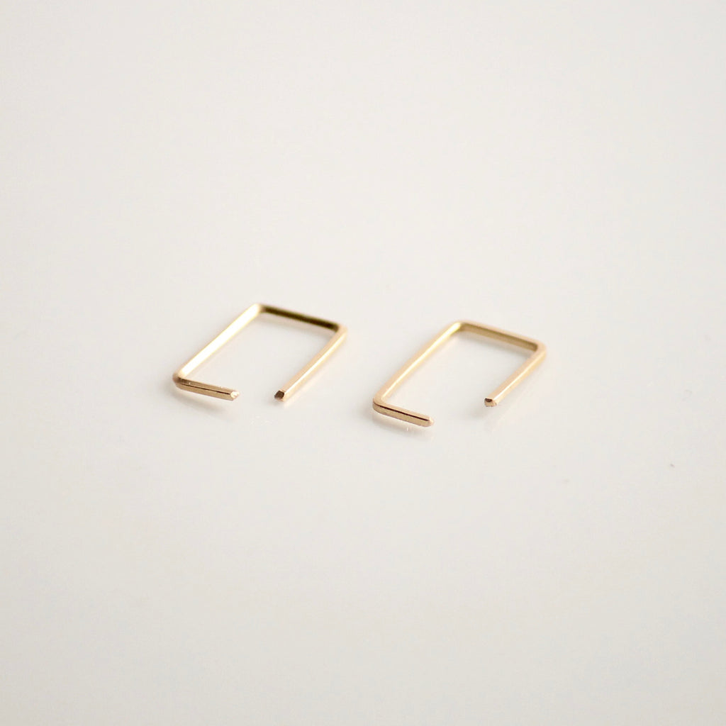 Staple Earrings | Little Hawk Jewelry