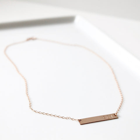 City Necklace | Little Hawk Jewelry