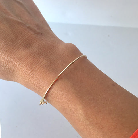 Dainty Gold Bracelet | Little Hawk Jewelry