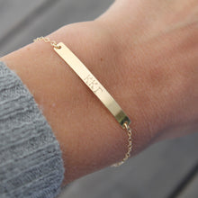 Load image into Gallery viewer, KAPPA KAPPA GAMMA Greek Bar Bracelet - Little Hawk Jewelry - 6