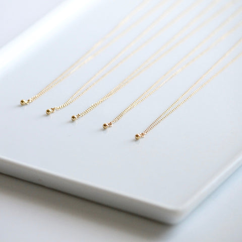 Dainty Gold Jewelry | Gold Filled Necklaces | Little Hawk Jewelry