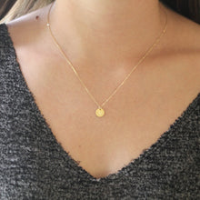 Load image into Gallery viewer, Mountain Disc Necklace