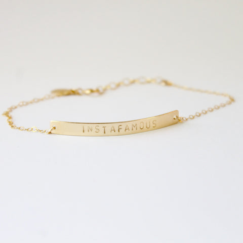 INSTAFAMOUS Bracelet | Little Hawk Jewelry