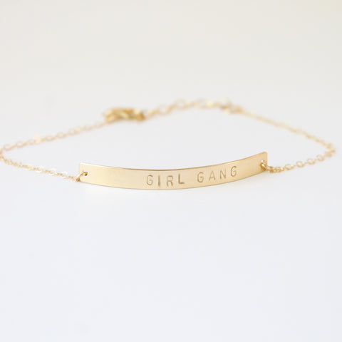 GIRL GANG Bracelet | Little Hawk Jewelry