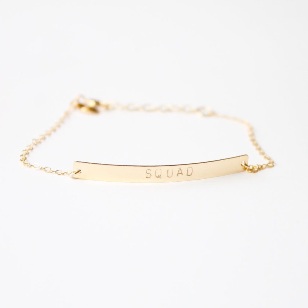 SQUAD Bracelet |  Little Hawk Jewelry