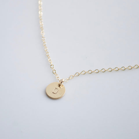 Personalized Necklace | Little Hawk Jewelry | 14k Gold Filled