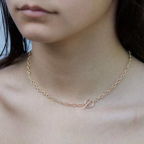Toggle Choker - Gold