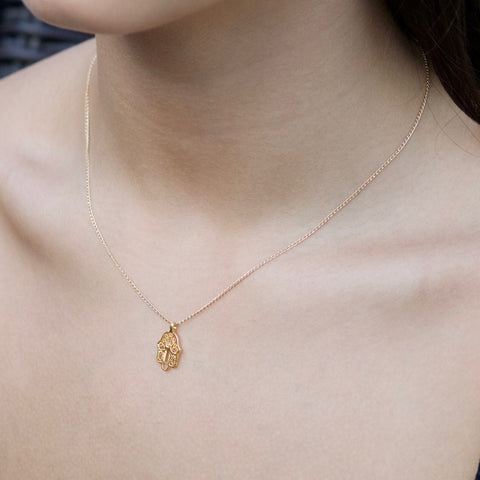 Hamsa Necklace | Little Hawk Jewelry