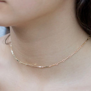 Dainty Necklace | Little Hawk Jewelry | Gold Filled Choker