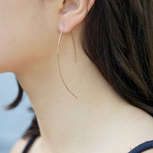 Load image into Gallery viewer, Threader Earrings | Little Hawk Jewelry | Dainty Jewelry